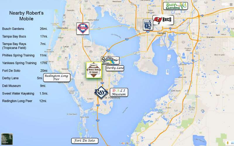 Saint Petersburg Fl Zip Code Map.Home Robert S Mobile Home Rv Resort